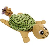 Hyper Pet New Cozy Krinkle Dog Toy, Turtle