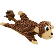 Hyper Pet New Cozy Krinkle Dog Toy, Monkey