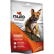 Nulo Freestyle Grain-Free Turkey Recipe Dog Training Treats, 4-oz bag