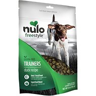 Nulo Freestyle Grain-Free Duck Recipe Dog Training Treats, 4-oz bag