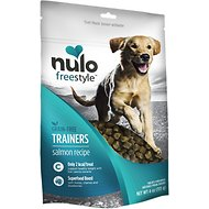 Nulo Freestyle Grain-Free Salmon Recipe Dog Training Treats, 4-oz bag