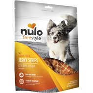 Nulo Freestyle Grain-Free Chicken & Apple Jerky Dog Strips, 5-oz bag