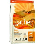Gather Free Acres Organic Free-Run Chicken Dry Dog Food, 6-lb bag