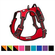 Chai's Choice 3M Reflective Dog Harness, Red, Large