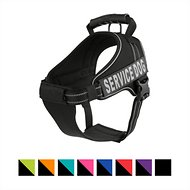 Chai's Choice Service Dog Vest Harness, Black, X-Large