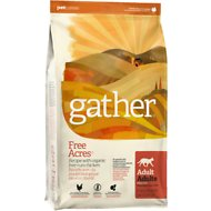 Gather Free Acres Organic Free-Run Chicken Dry Cat Food, 4-lb bag