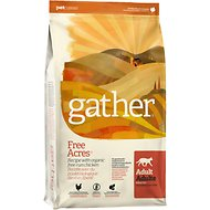Gather Free Acres Organic Free-Run Chicken Dry Cat Food, 8-lb bag