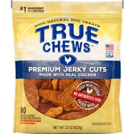 True Chews Premium Jerky Cuts with Real Chicken Dog Treats
