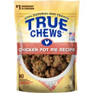 True Chews Premium Chicken Pot Pie Recipe Dog Treats, 12-oz bag