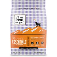 I and Love and You Naked Essentials Puppy Recipe Grain-Free Dry Puppy Food, 4-lb