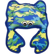 Petlou SeaWarrior Crab Dog Toy, 10-in