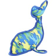 Petlou SeaWarrior Whale Dog Toy, 10-in