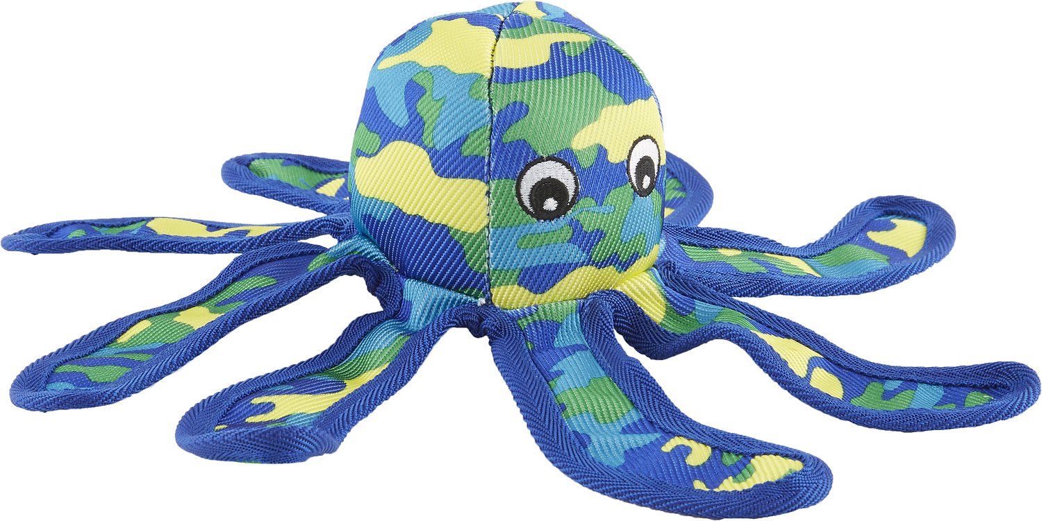 Petlou SeaWarrior Octopus Dog Toy, 14-in - Chewy.com