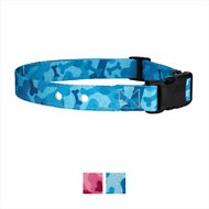 Country Brook Design Replacement Fence Receiver Dog Collar, Blue Bone Camo