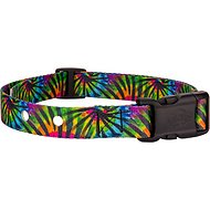 Country Brook Design Replacement Fence Receiver Dog Collar, Tie-Dye Stripes