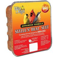 Wild Delight Sizzle N' Heat Suet Bird Food, 11.75-oz tray