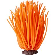 Sporn Artificial Anemone Aquarium Decoration, Orange