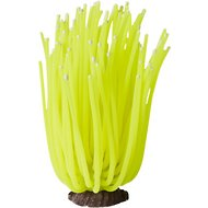 Sporn Artificial Anemone Aquarium Decoration, Yellow