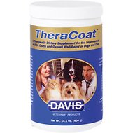 Davis TheraCoat Dog & Cat Supplement, 16-oz jar