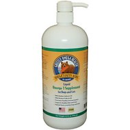 Grizzly Omega Health Omega-3's Dog Supplement, 32-oz bottle