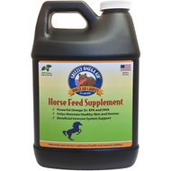 Grizzly Omega Aid Horse Feed Liquid Supplement, 1/2-gallon bottle