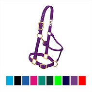 Weaver Leather Original Adjustable Nylon Horse Halter, Purple, Average