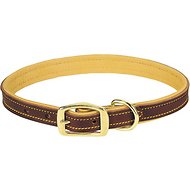 Weaver Pet Deer Ridge Leather Dog Collar, 18 - 20.5 in, 3/4-in