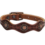 Weaver Pet Sundance Leather Dog Collar, 15 - 18 in, 1-in