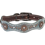 Weaver Pet Savannah Leather Dog Collar, 18 - 21 in