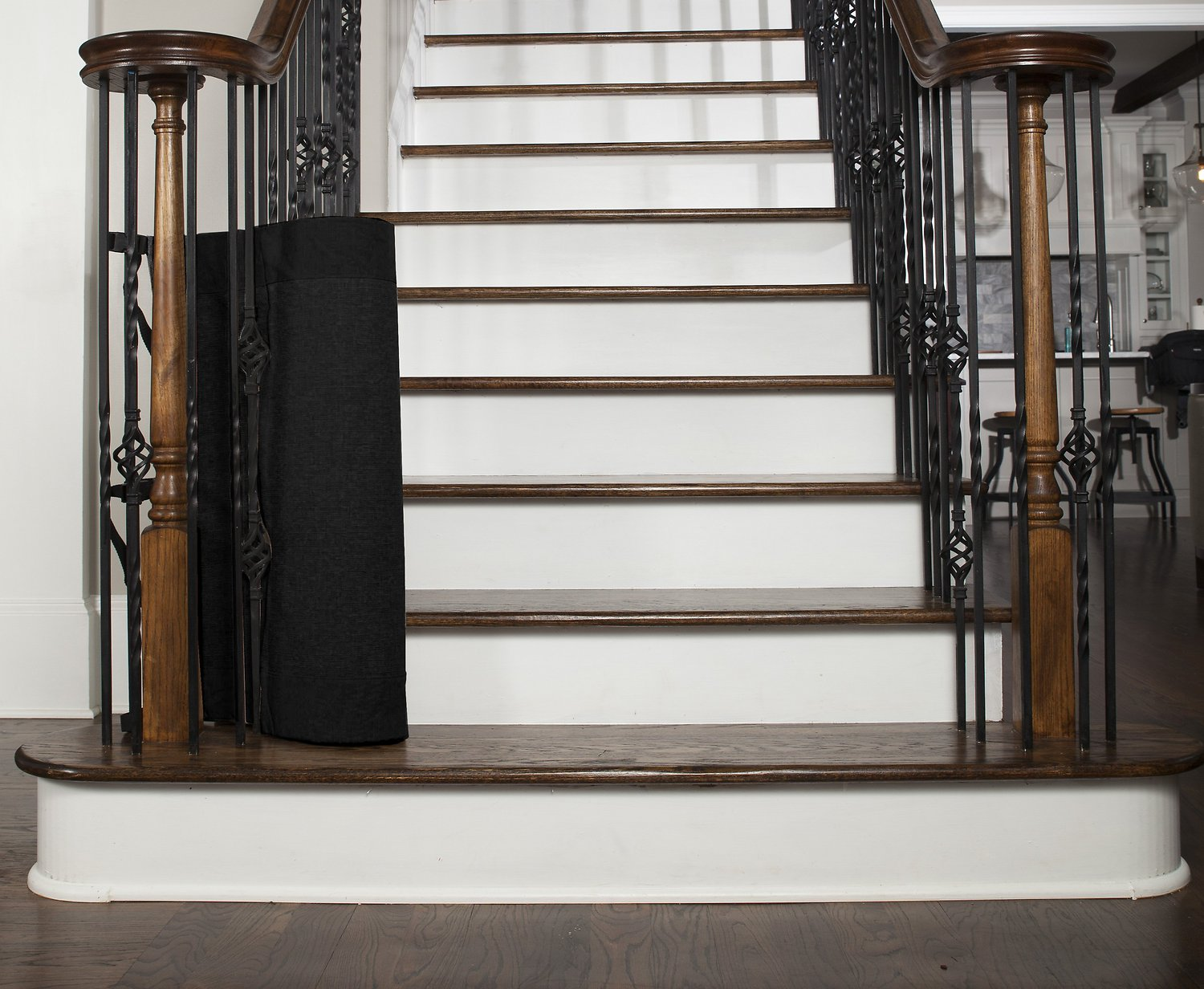 The Stair Barrier Wall To Banister Indoor Amp Outdoor Fabric