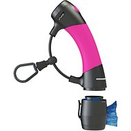 Dog Gone Smart I'm Gismo Dog Leash Handle with Poop Bag Dispenser, Hot Pink