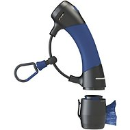 Dog Gone Smart I'm Gismo Dog Leash Handle with Poop Bag Dispenser, Midnight Blue