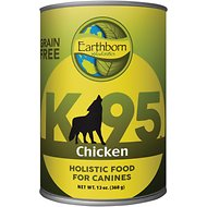 Earthborn Holistic K95 Chicken Recipe Grain-Free Canned Dog Food, 13-oz, case of 12