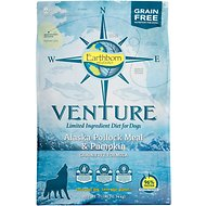 Earthborn Holistic Venture Alaska Pollock Meal & Pumpkin Limited Ingredient Diet Grain-Free Dry Dog Food, 25-lb bag