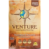 Earthborn Holistic Venture Duck Meal & Pumpkin Limited Ingredient Diet Grain-Free Dry Dog Food, 25-lb bag
