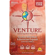 Earthborn Holistic Venture Pork Meal & Butternut Squash Limited Ingredient Diet Grain-Free Dry Dog Food, 25-lb bag