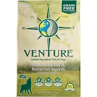 Earthborn Holistic Venture Turkey Meal & Butternut Squash Limited Ingredient Diet Grain-Free Dry Dog Food, 25-lb bag