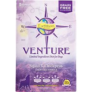 Earthborn Holistic Venture Squid & Chickpeas Limited Ingredient Diet Grain-Free Dry Dog Food, 25-lb bag