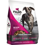 Nulo Freestyle Freeze Dried Beef Dog Food Toppers, 5-oz bag