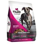 Nulo Freestyle Grain-Free Beef Recipe With Apples Freeze-Dried Raw Dog Food, 13-oz bag