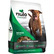 Nulo Freestyle Freeze Dried Duck Dog Food Toppers, 5-oz bag