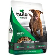 Nulo Freestyle Grain-Free Duck Recipe With Pears Freeze-Dried Raw Dog Food, 13-oz bag