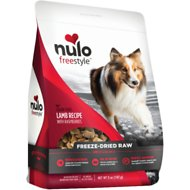 Nulo Freestyle Grain-Free Lamb Recipe With Raspberries Freeze-Dried Raw Dog Food, 5-oz bag