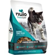 Nulo Freestyle Freeze Dried Salmon & Turkey Dog Food Toppers, 5-oz bag