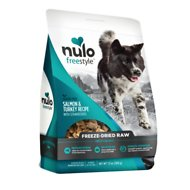 Nulo Freestyle Grain-Free Salmon & Turkey Recipe With Strawberries Freeze-Dried Raw Dog Food, 13-oz bag
