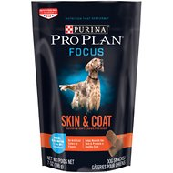 Purina Pro Plan Focus Skin & Coat Salmon Dog Treats, 7-oz bag