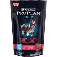 Purina Pro Plan Focus Daily Health Duck Dog Treats, 7-oz bag