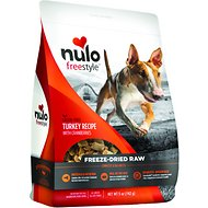 Nulo Freestyle Freeze Dried Turkey Dog Food Toppers, 5-oz bag