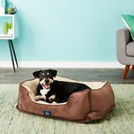 Serta Orthopedic Cuddler Dog & Cat Bed, Mocha