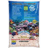 Nature's Ocean Bio-Activ Live Aragonite Saltwater Aquarium Sand, Reef Substrate, 8-lb bag
